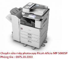 Chuyên sửa máy photocopy Ricoh Aficio MP 5002SP lấy ngay giá rẻ
