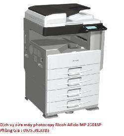 Dịch vụ sửa máy photocopy Ricoh Aficio MP 2501SP uy tín giá rẻ