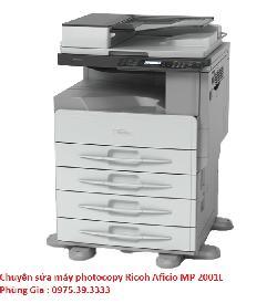 Chuyên sửa máy photocopy Ricoh Aficio MP 2001L uy tín hà nội