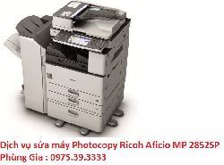 Dịch vụ sửa máy Photocopy Ricoh Aficio MP 2852SP lấy ngay uy tín