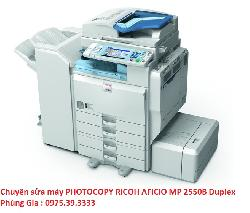 Chuyên sửa máy PHOTOCOPY RICOH AFICIO MP 2550B Duplex uy tín hà nội