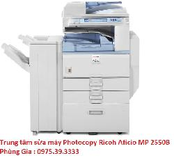 Trung tâm sửa máy Photocopy Ricoh Aficio MP 2550B copy-in 2 mặt uy tín giá rẻ