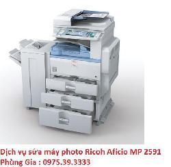 Dịch vụ sửa máy photo Ricoh Aficio MP 2591 giá rẻ uy tín