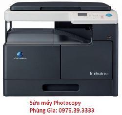 Phùng Gia nhận sửa máy photocopy Konica Minolta Bizhub-184 + MB-503
