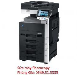 Trung tâm chuyên sửa máy Photocopy Konica minolta Bizhub-363
