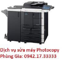 Dịch vụ sửa máy photocopy Konica Bizhub 501 giá rẻ