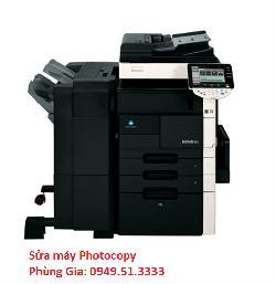 Cửa hàng nhận sửa máy photocopy Konica minolta Bizhub-601