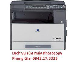 Địa chỉ sửa máy photo Konica Minolta Bizhub 211 + MB501