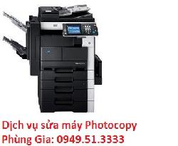 Dịch vụ sửa máy photocopy Konica Minolta Bizhub 282