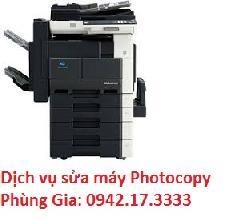 Phùng Gia chuyên sửa máy photocopy Konica Minolta Bizhub 362