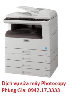 Công ty sửa máy photocopy SHARP AR-5516D chuyên nghiệp