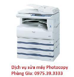 Dịch vụ sửa máy photocopy SHARP AR-M161 chuyên nghiệp